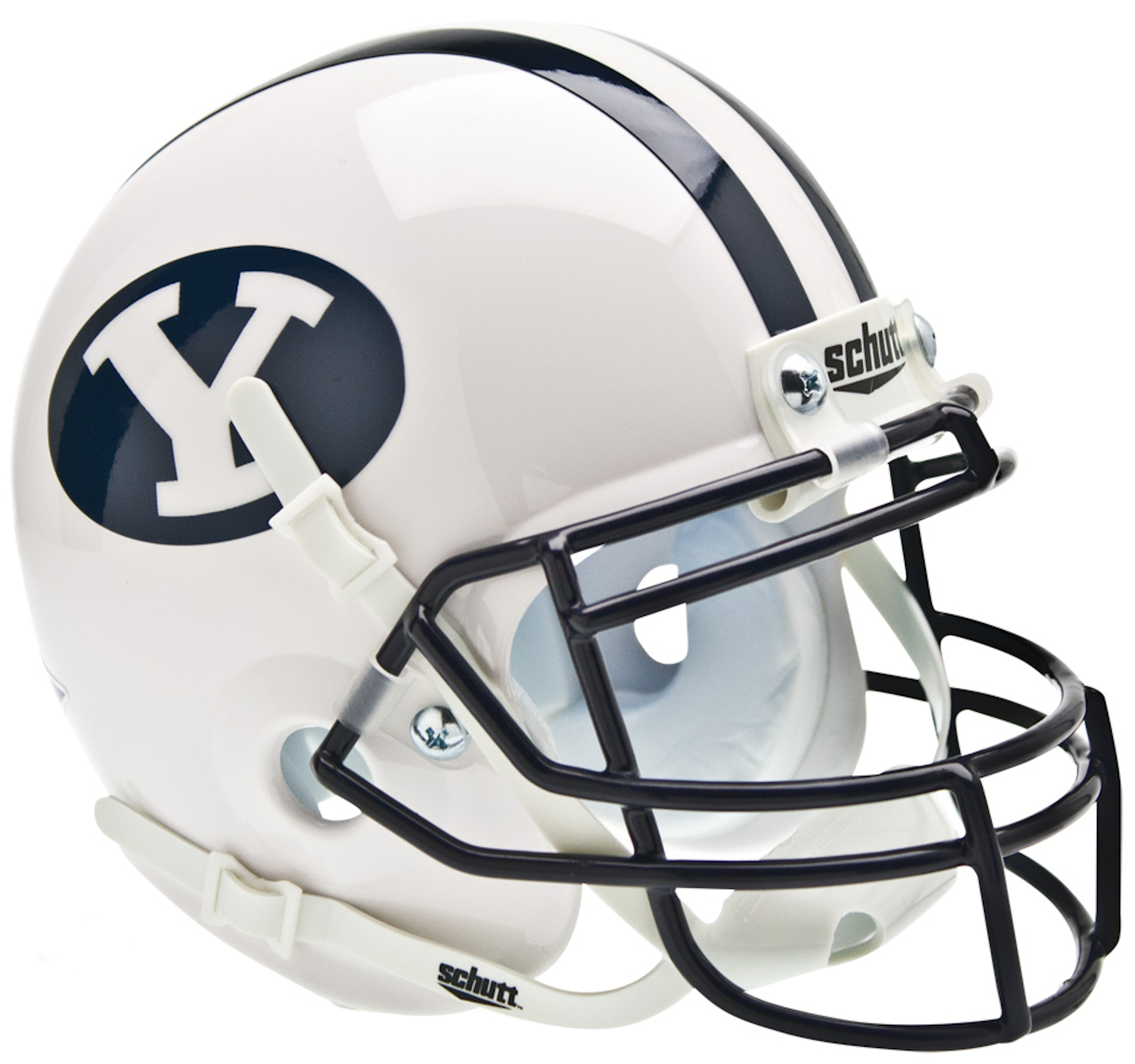 Brigham Young Cougars Mini XP Authentic Helmet Schutt