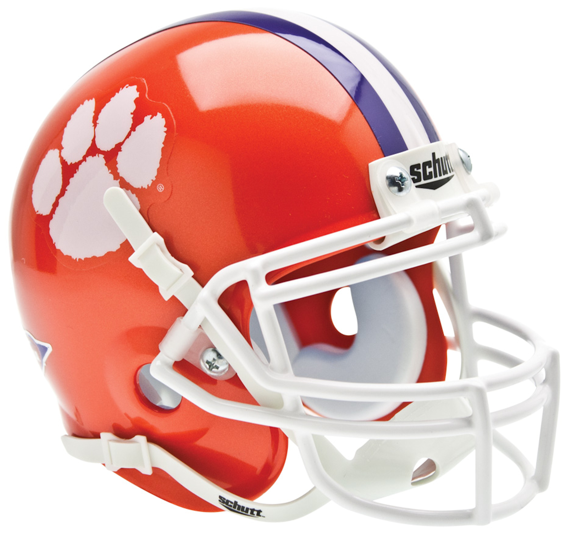 Clemson Tigers Mini XP Authentic Helmet Schutt