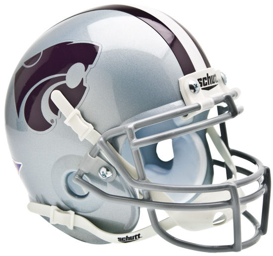 Kansas State Wildcats Mini XP Authentic Helmet Schutt