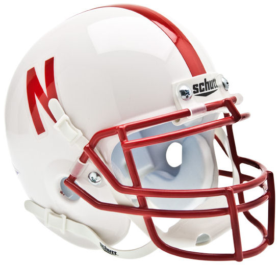 Nebraska Cornhuskers Mini XP Authentic Helmet Schutt