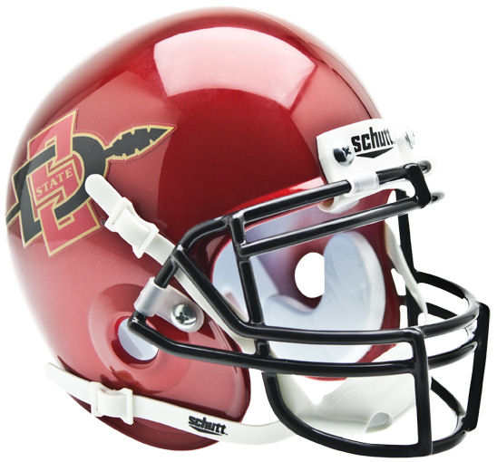 San Diego State Aztecs Mini XP Authentic Helmet Schutt
