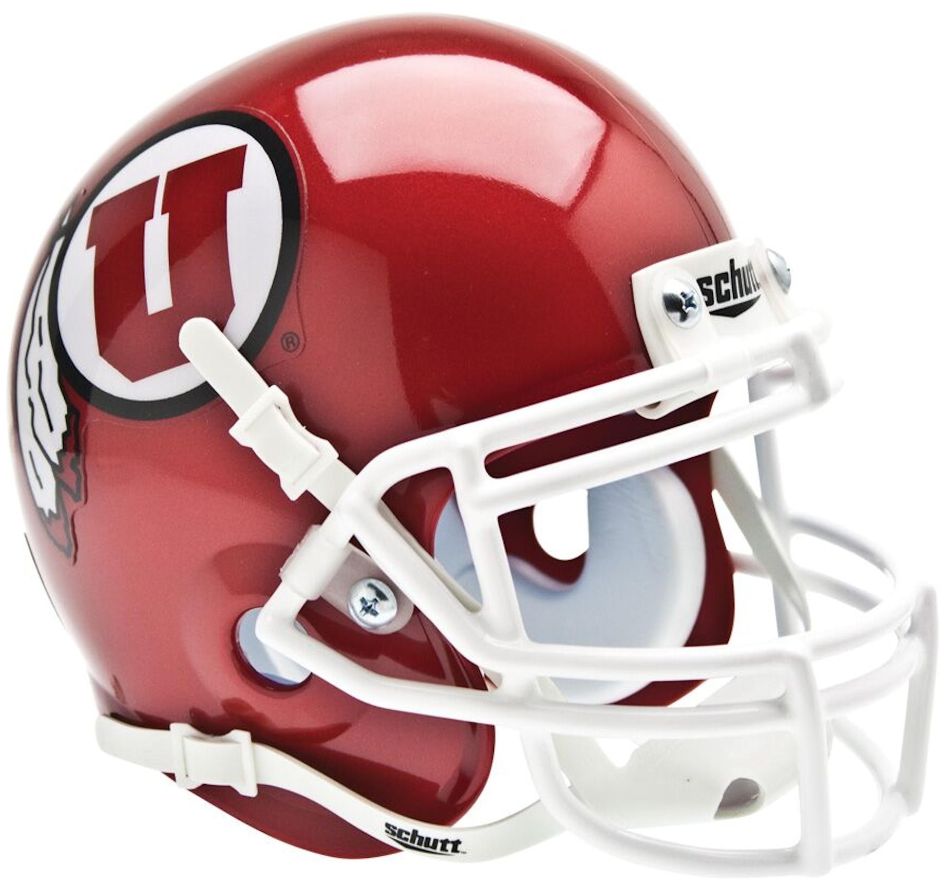 Utah Utes Mini XP Authentic Helmet Schutt