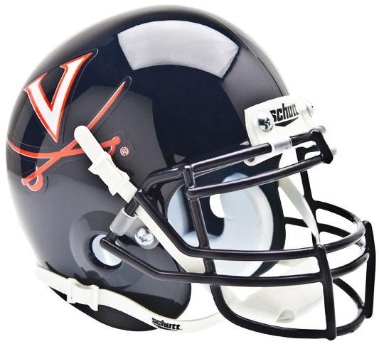Virginia Cavaliers Mini XP Authentic Helmet Schutt