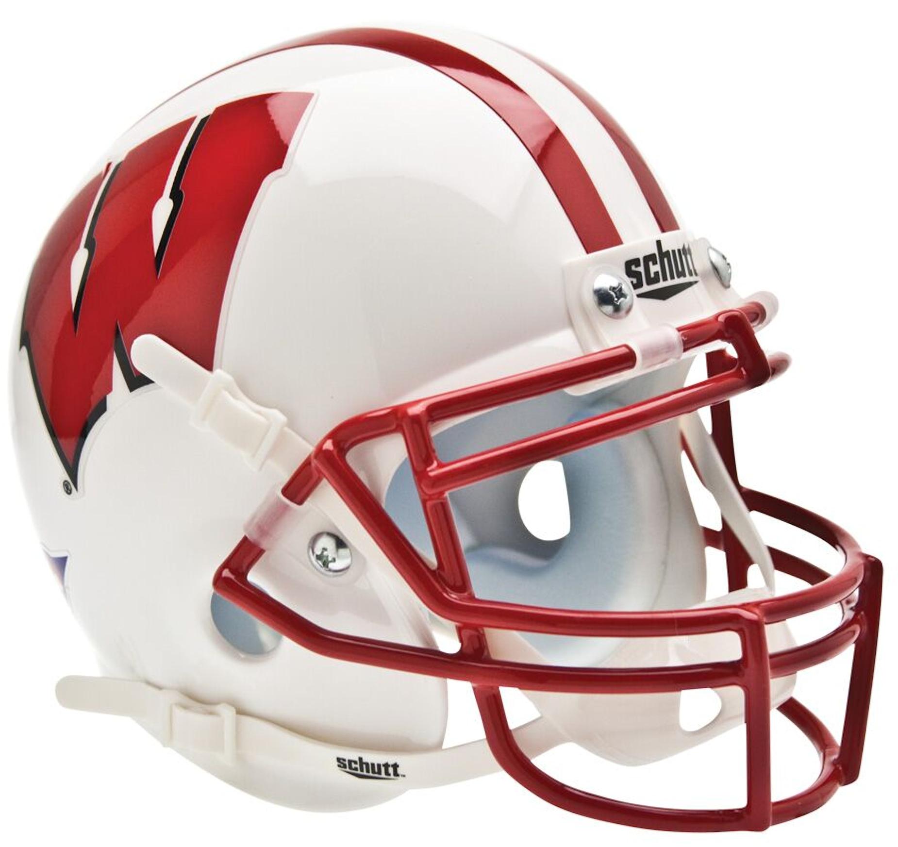 Wisconsin Badgers Mini XP Authentic Helmet Schutt