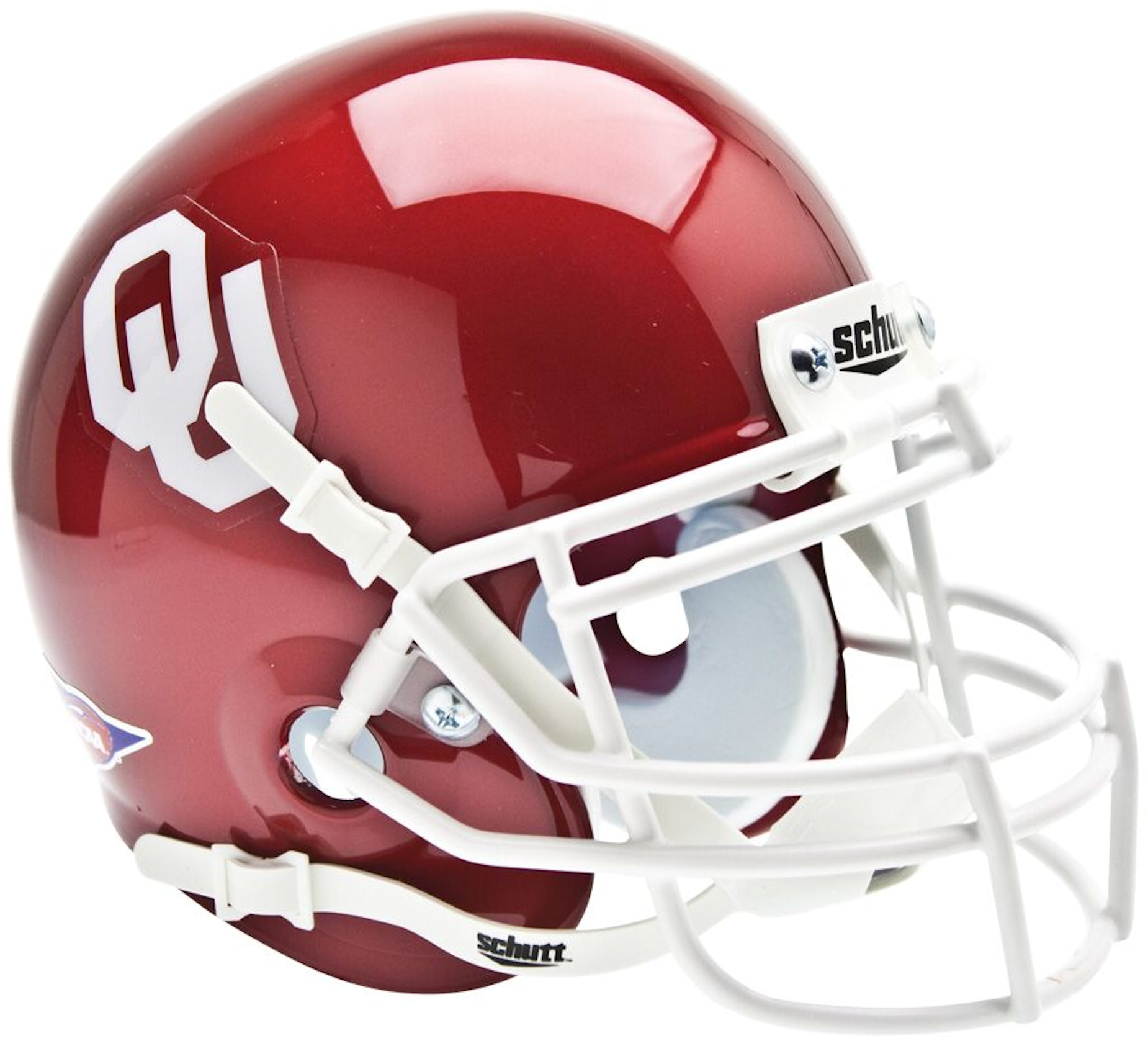 Oklahoma Sooners Mini XP Authentic Helmet Schutt