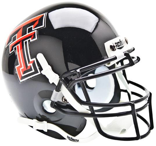 Texas Tech Red Raiders Mini XP Authentic Helmet Schutt