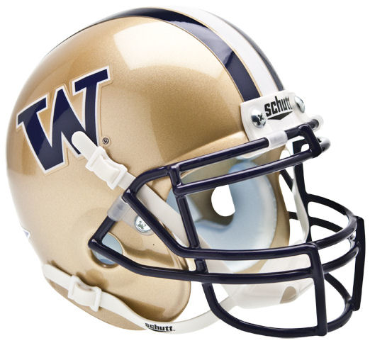 Washington Huskies Mini XP Authentic Helmet Schutt