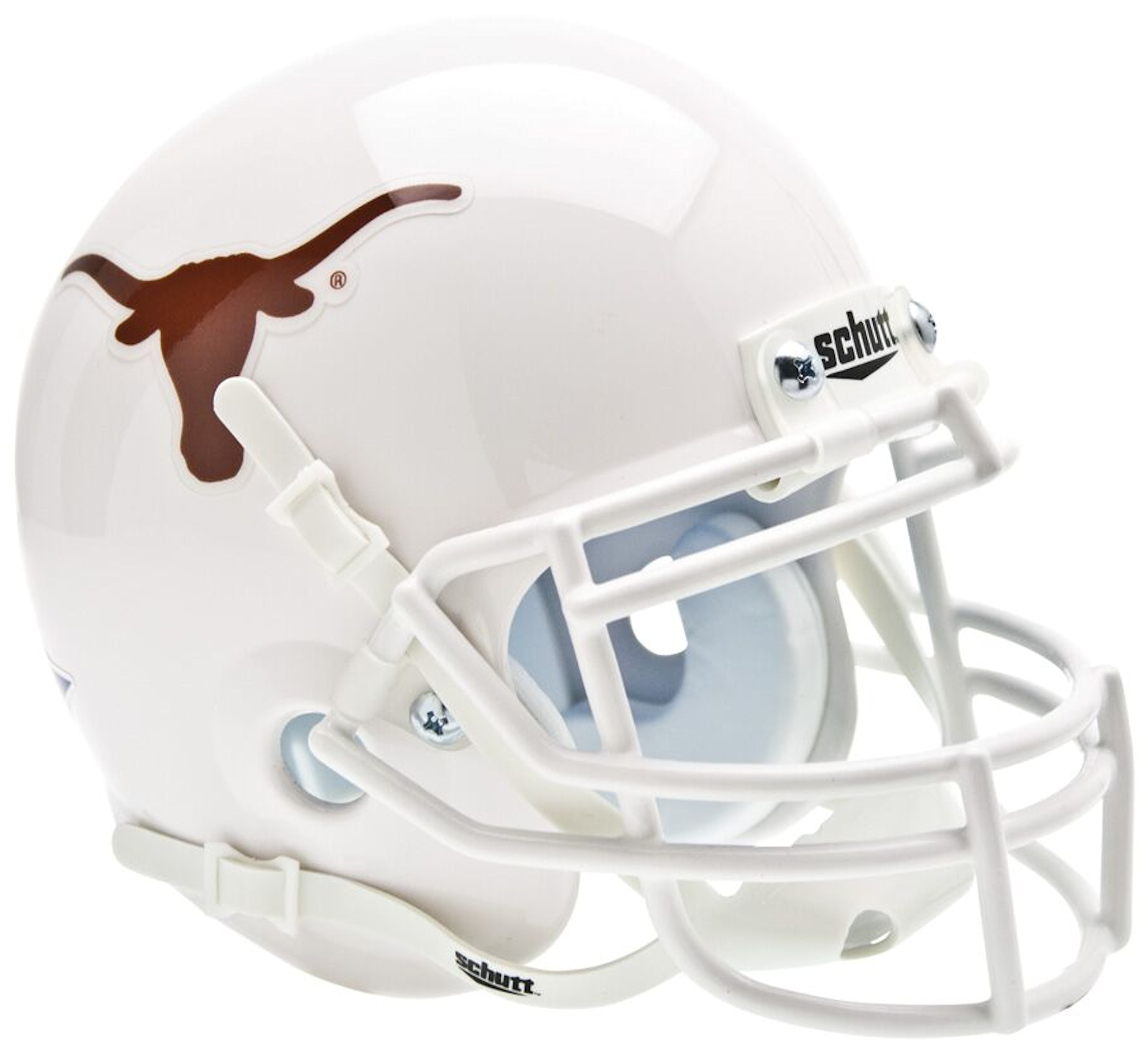 Texas Longhorns Mini XP Authentic Helmet Schutt