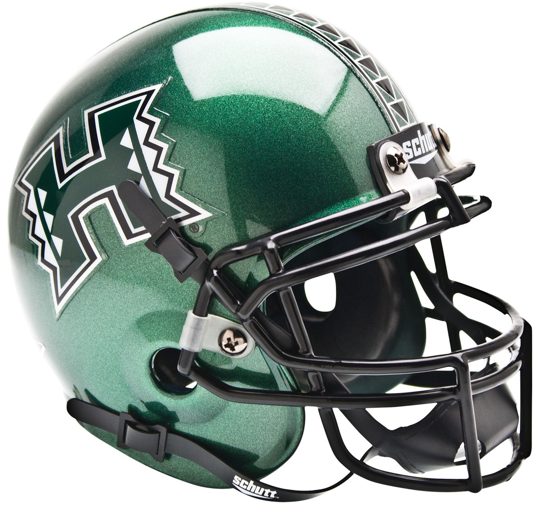 Hawaii Warriors Mini XP Authentic Helmet Schutt