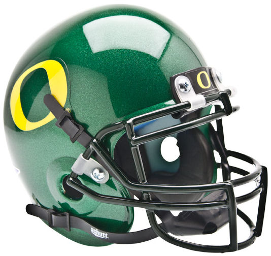 Oregon Ducks Mini XP Authentic Helmet Schutt