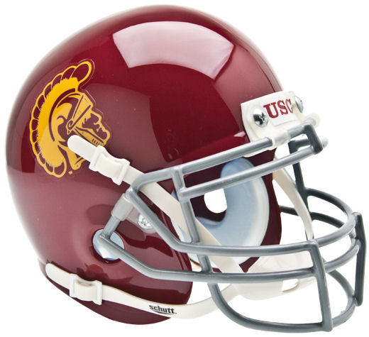 USC Trojans Mini XP Authentic Helmet Schutt