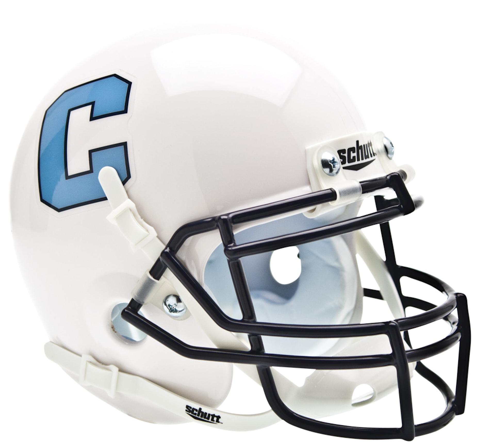 The Citadel Bulldogs Mini XP Authentic Helmet Schutt