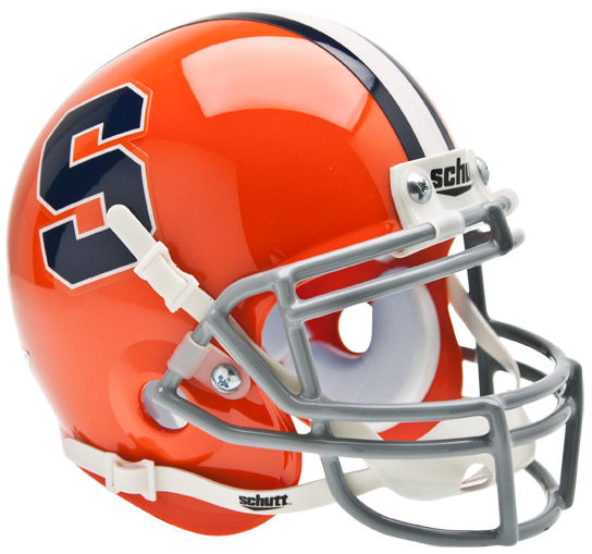 Syracuse Orangemen Mini XP Authentic Helmet Schutt