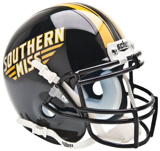 Southern Mississippi Golden Eagles Mini XP Authentic Helmet Schutt
