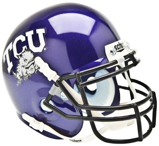 TCU Horned Frogs Mini XP Authentic Helmet Schutt