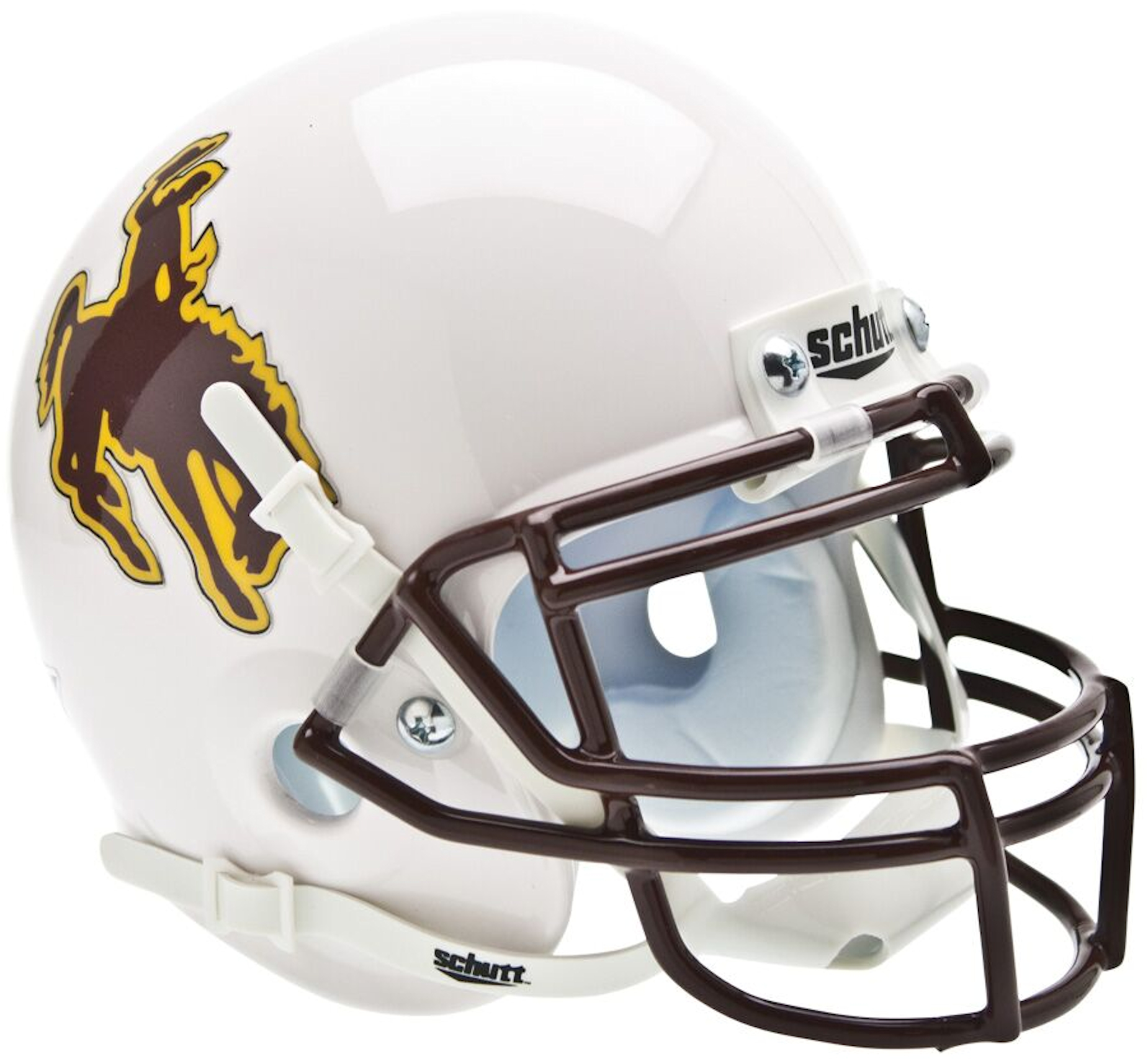 Wyoming Cowboys Mini XP Authentic Helmet Schutt