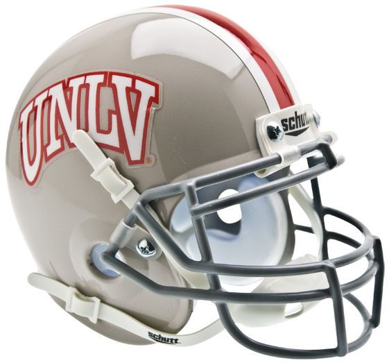 UNLV Runnin Rebels Mini XP Authentic Helmet Schutt