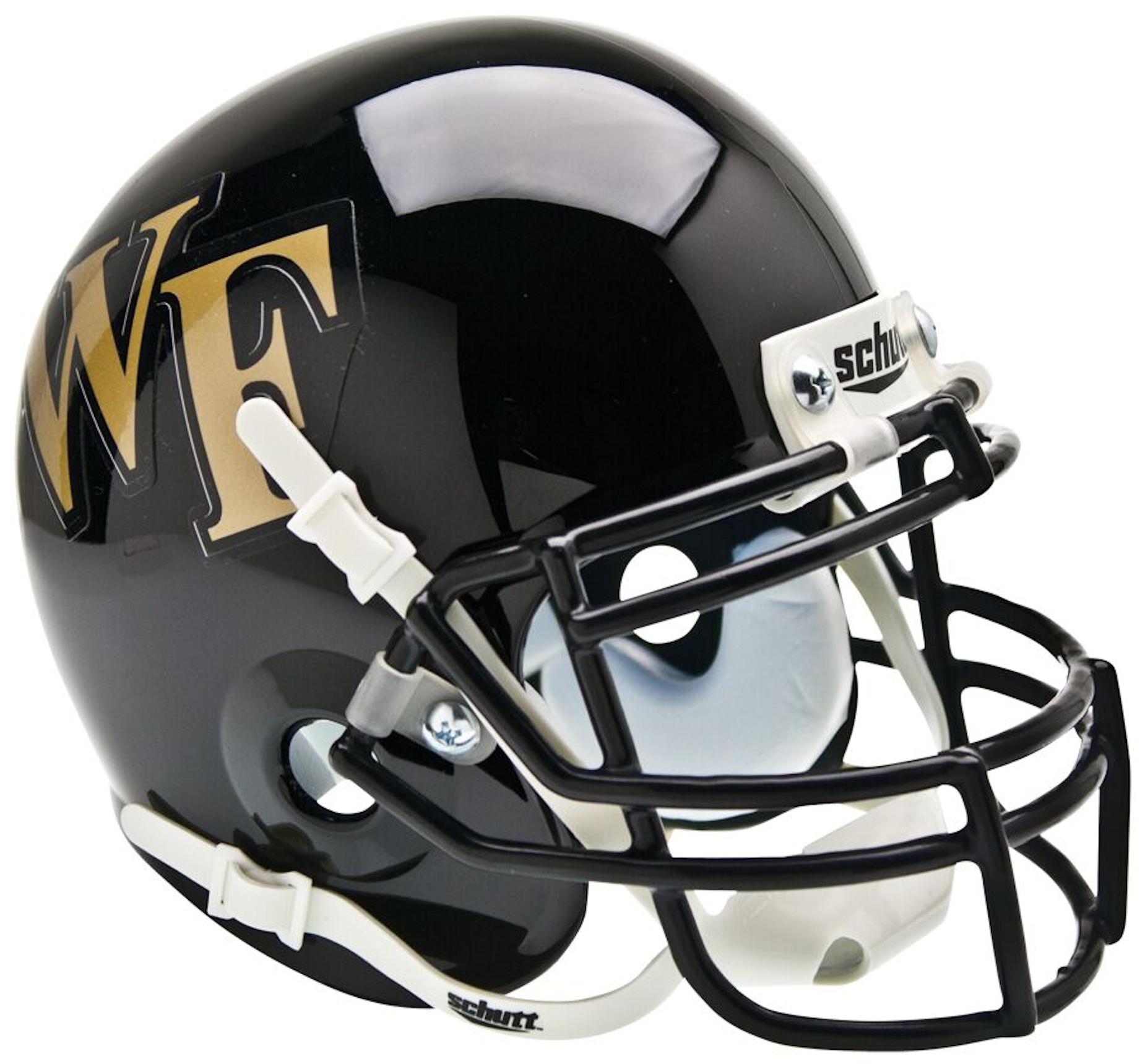 Wake Forest Demon Deacons Mini XP Authentic Helmet Schutt