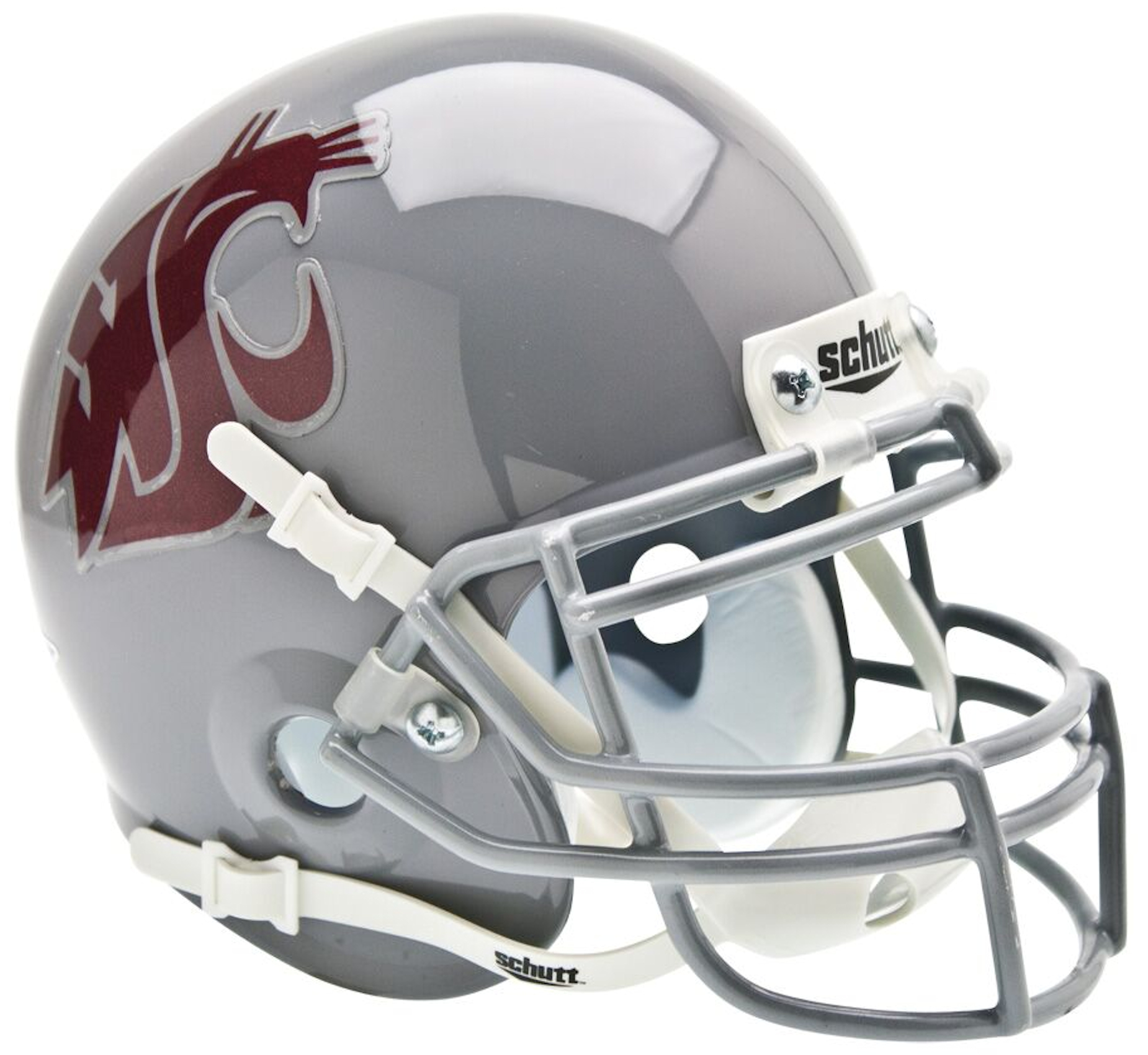 Washington State Cougars Mini XP Authentic Helmet Schutt