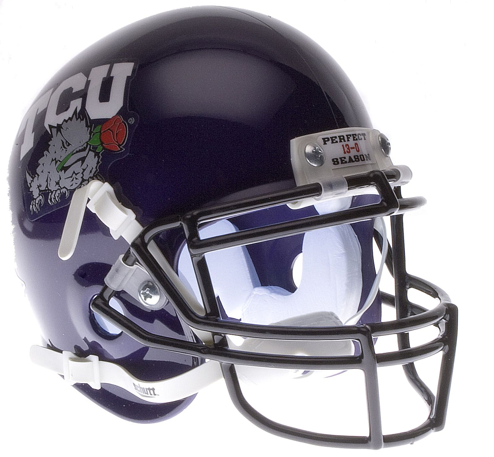 TCU Horned Frogs 2011 Rose Bowl Champs Mini Authentic Schutt