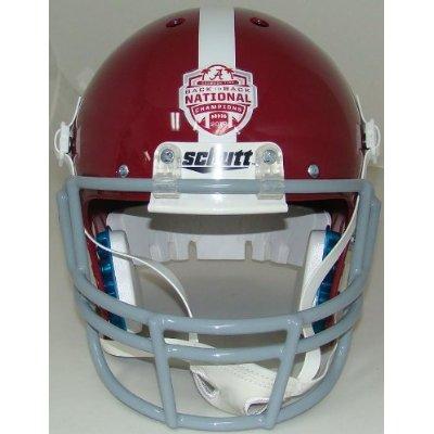 Alabama Crimson Tide National Champions 2012 BCS Full XP Replica Football Helmet Schutt
