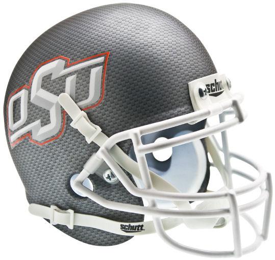 Oklahoma State Cowboys Mini XP Authentic Helmet Schutt <B>Cross Hatch</B>