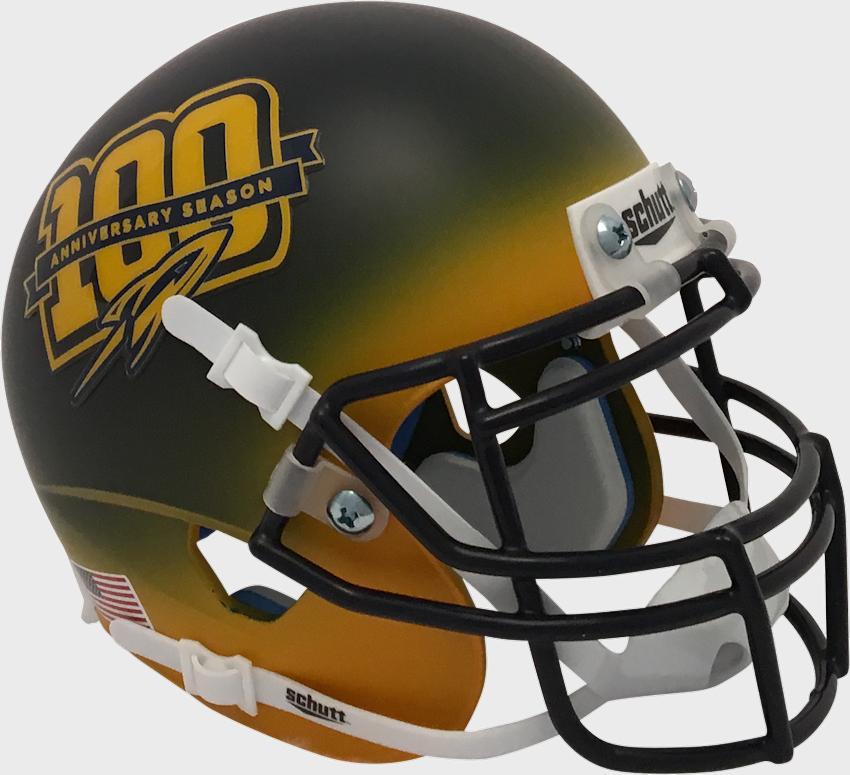 Toledo Rockets Mini XP Authentic Helmet Schutt <B>100</B>