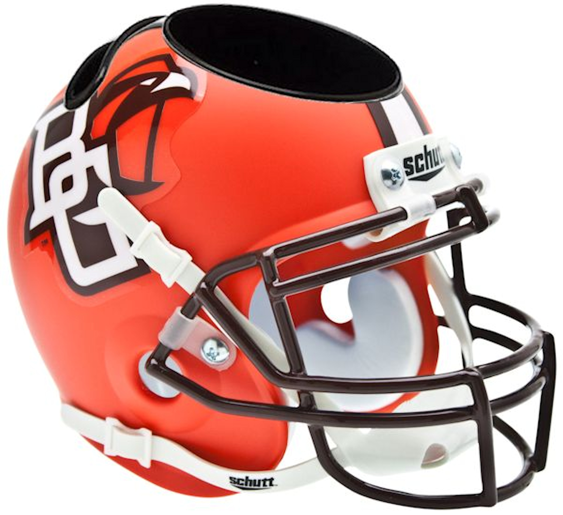 Bowling Green Falcons Miniature Football Helmet Desk Caddy