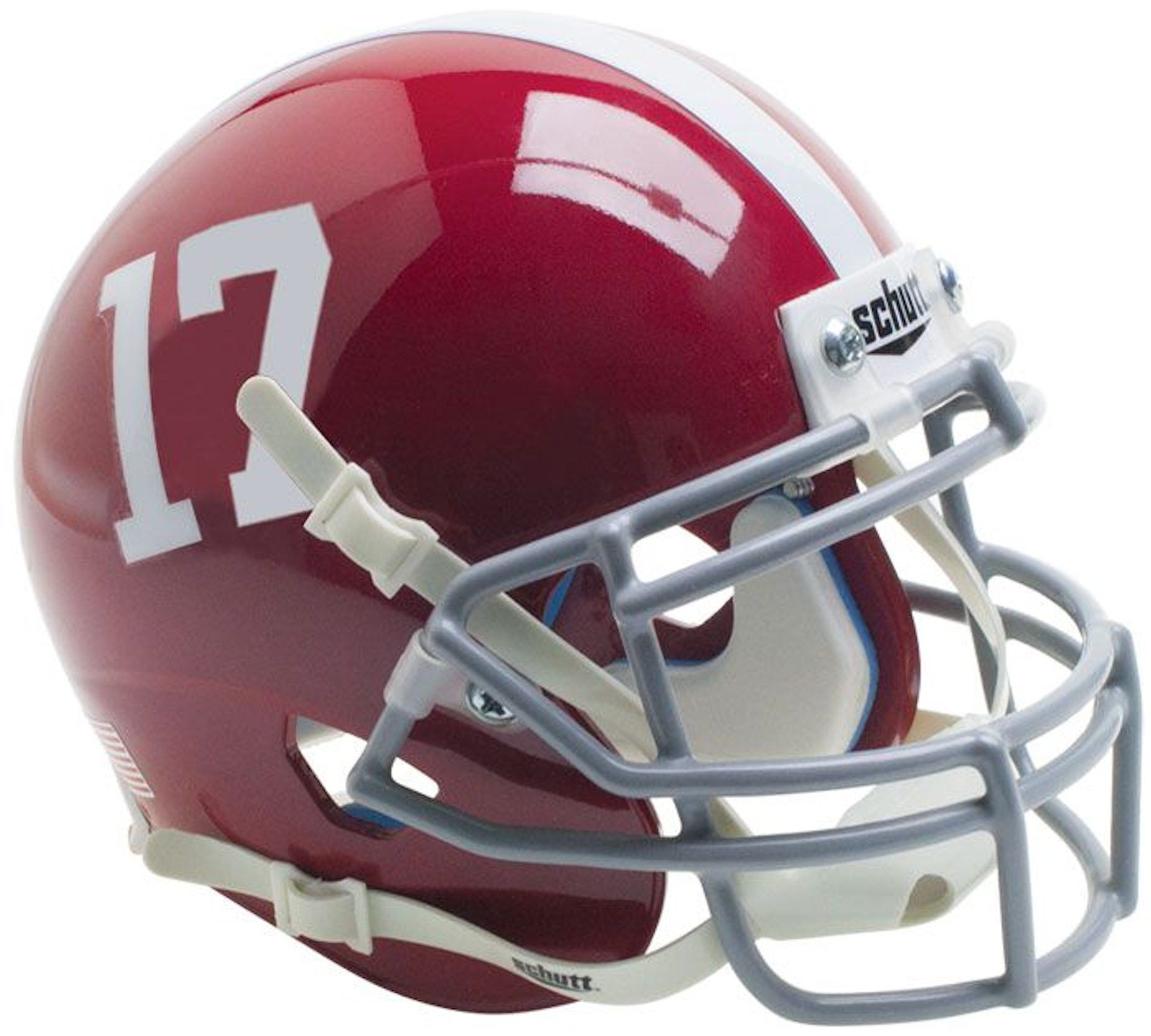 Alabama Crimson Tide Authentic College XP Football Helmet Schutt #17