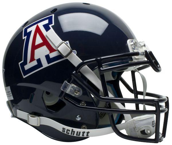 Arizona Wildcats Authentic College XP Football Helmet Schutt