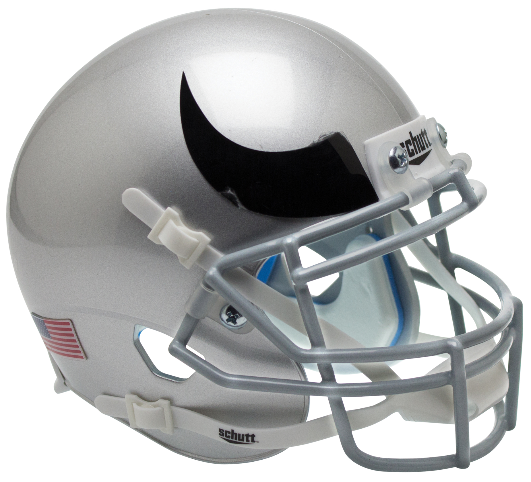Colorado Buffaloes Authentic College XP Football Helmet Schutt <B>Horn</B>