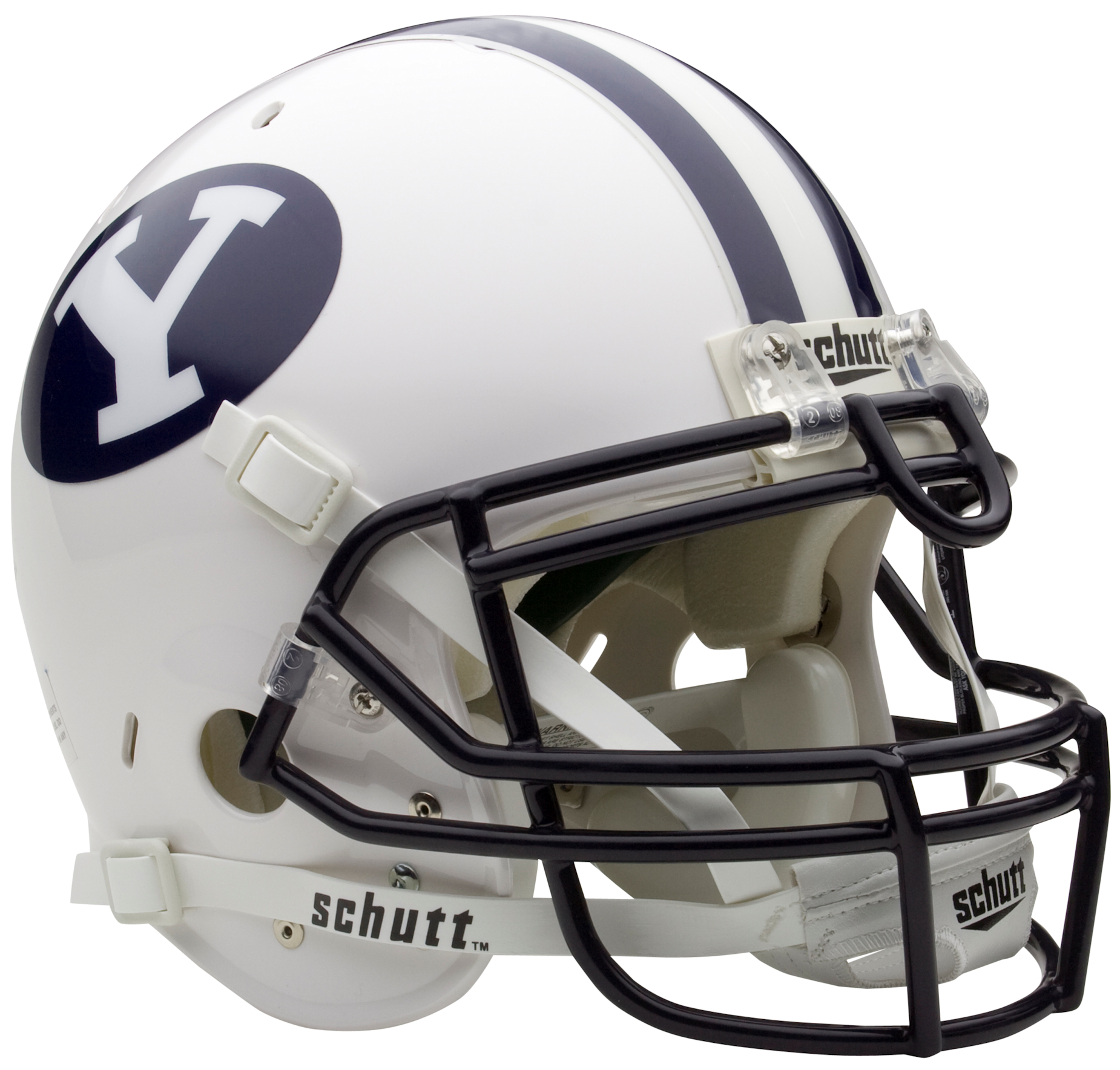 Brigham Young Cougars Authentic College XP Football Helmet Schutt