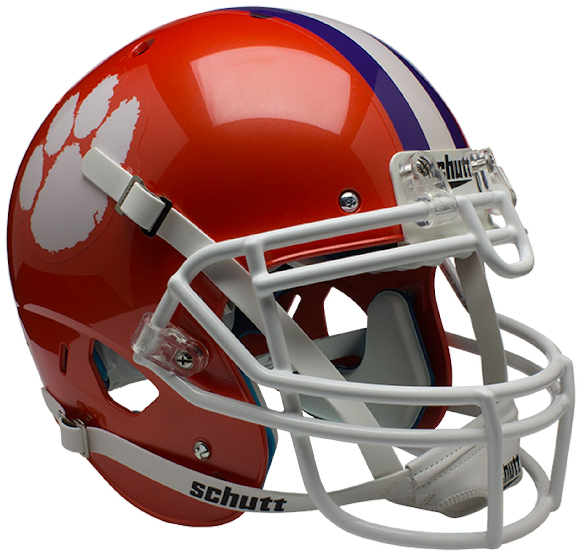 Clemson Tigers Authentic College XP Football Helmet Schutt