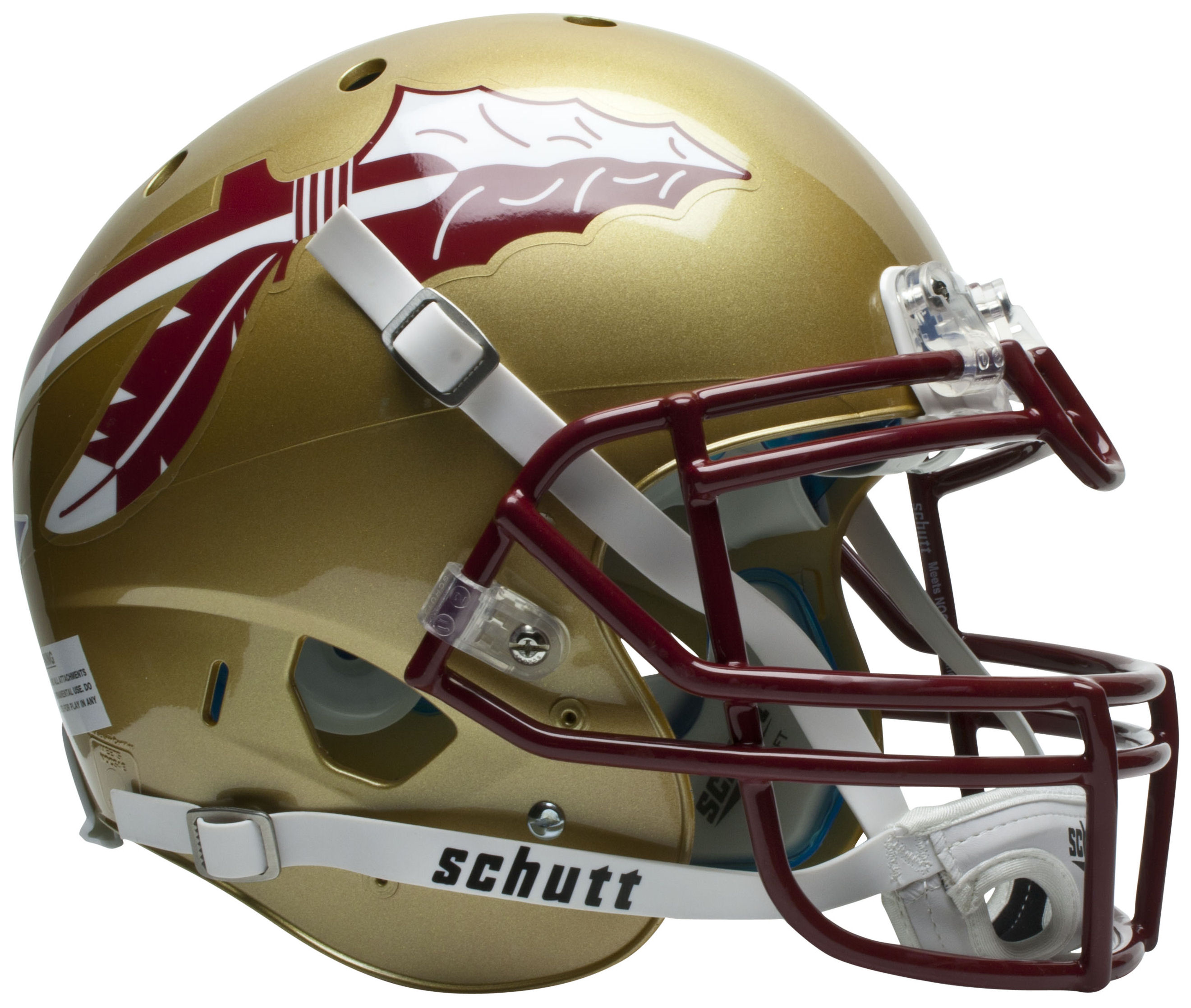 Florida State Seminoles Authentic College XP Football Helmet Schutt