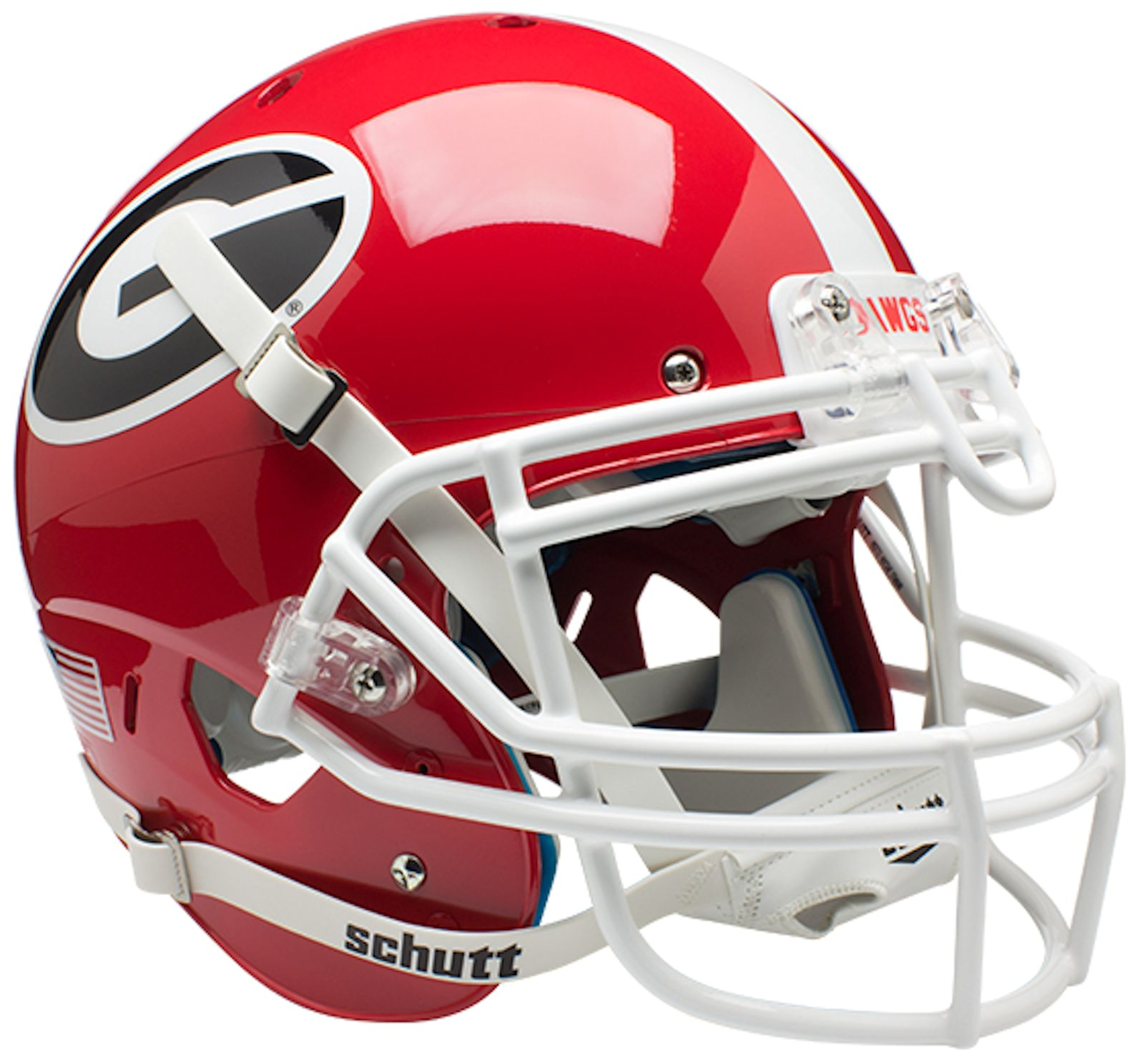 Georgia Bulldogs Authentic College XP Football Helmet Schutt