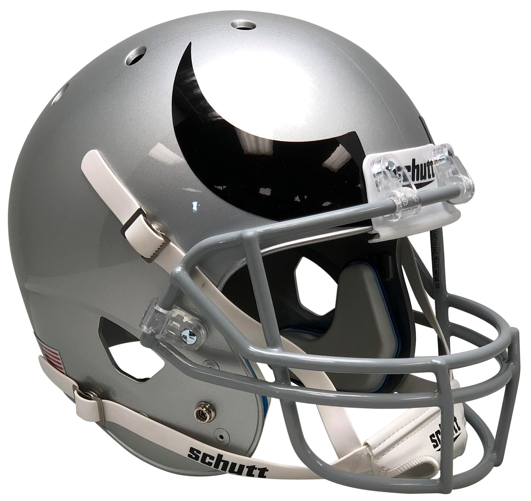 Colorado Buffaloes Full XP Replica Football Helmet Schutt <B>Horn</B>