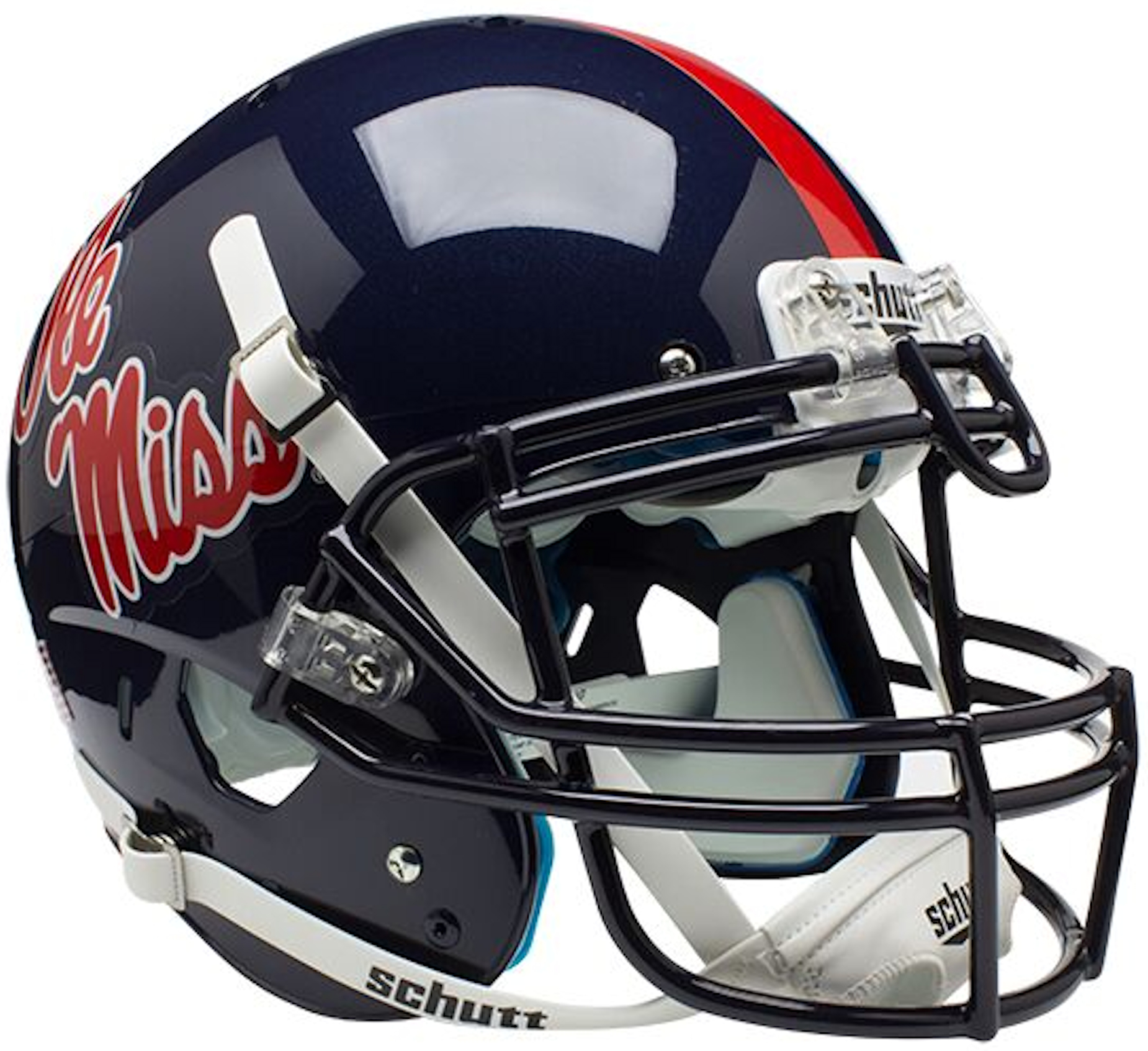 Mississippi (Ole Miss) Rebels Authentic College XP Football Helmet Schutt