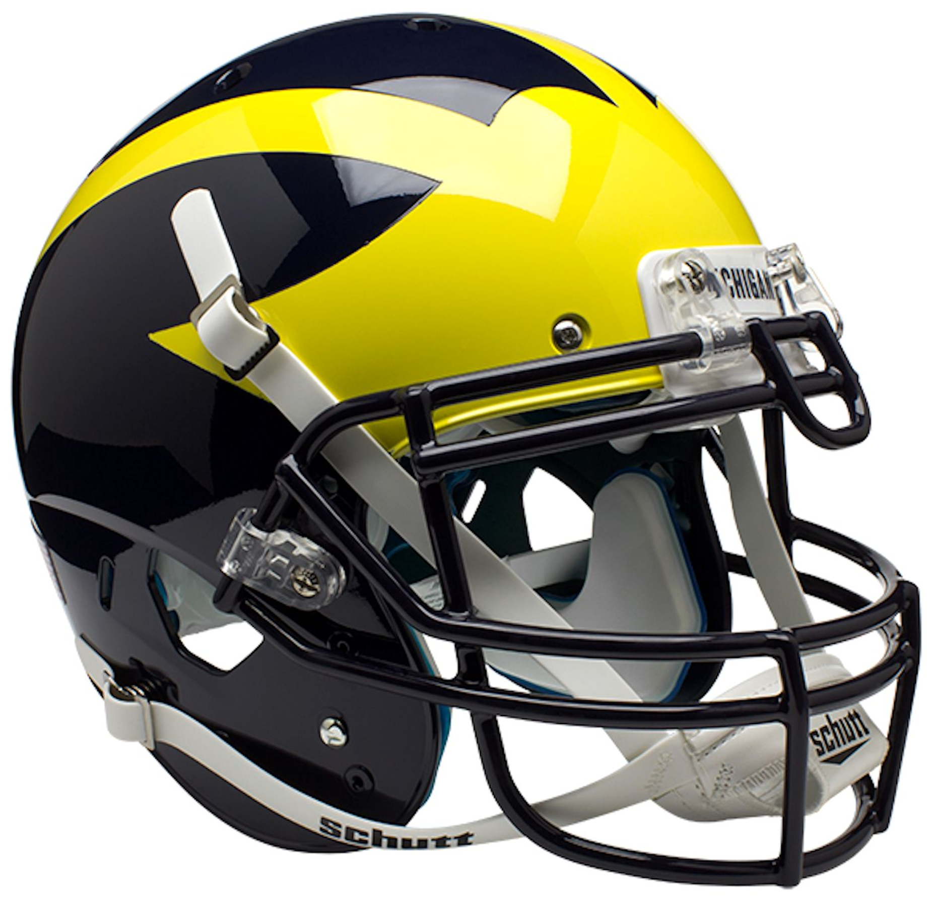 Michigan Wolverines Authentic College XP Football Helmet Schutt