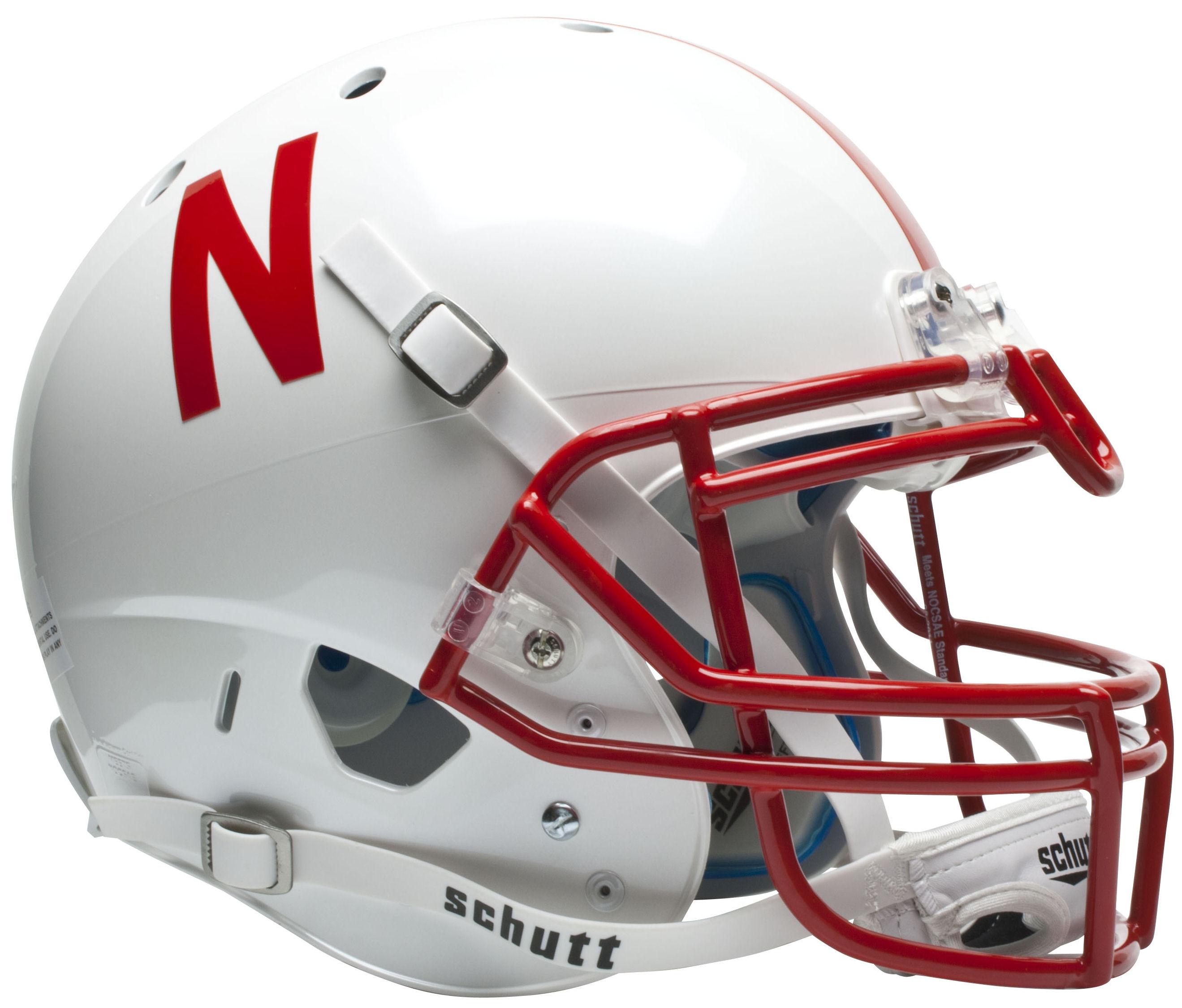 Nebraska Cornhuskers Authentic College XP Football Helmet Schutt
