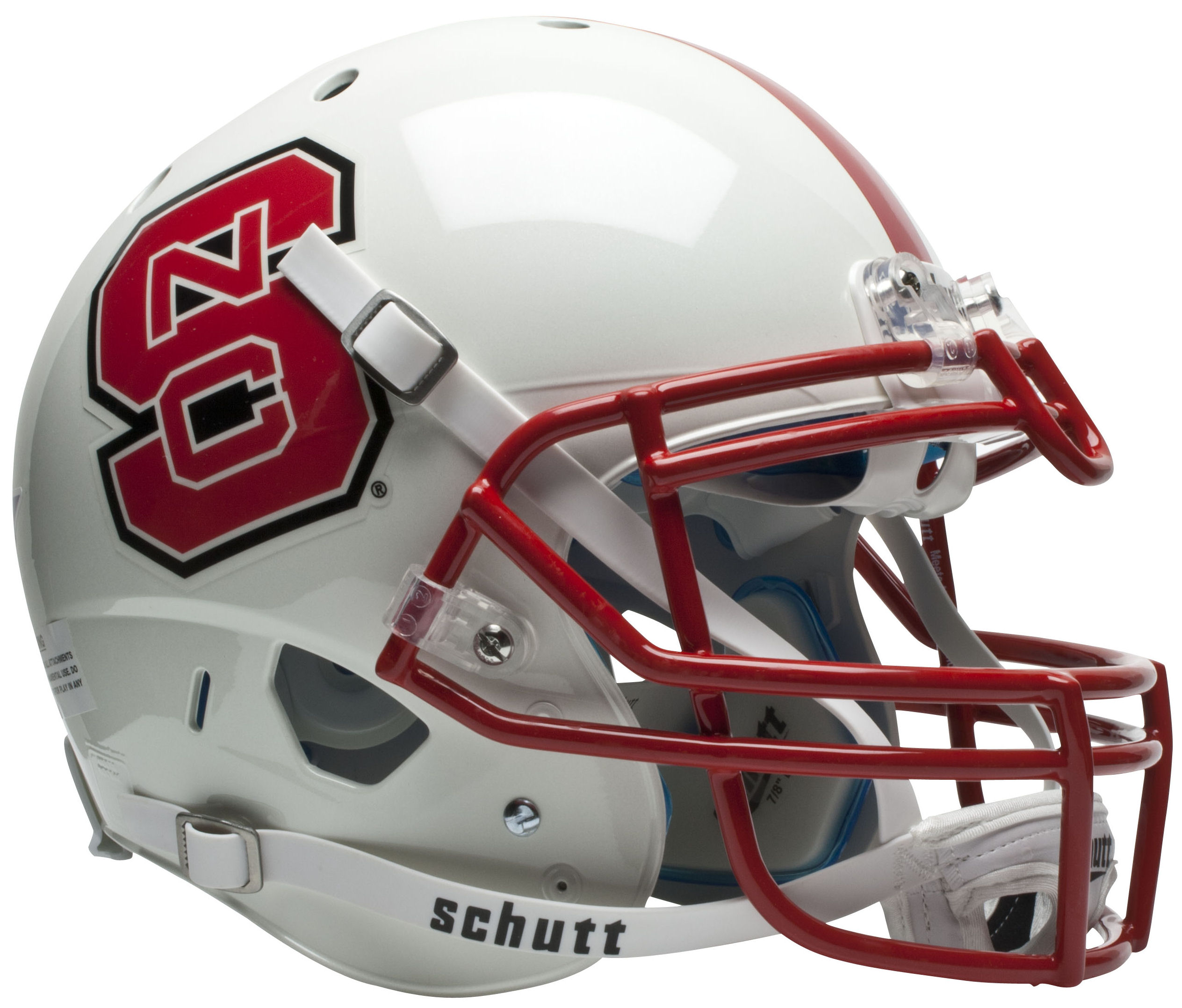North Carolina State Wolfpack Authentic College XP Football Helmet Schutt