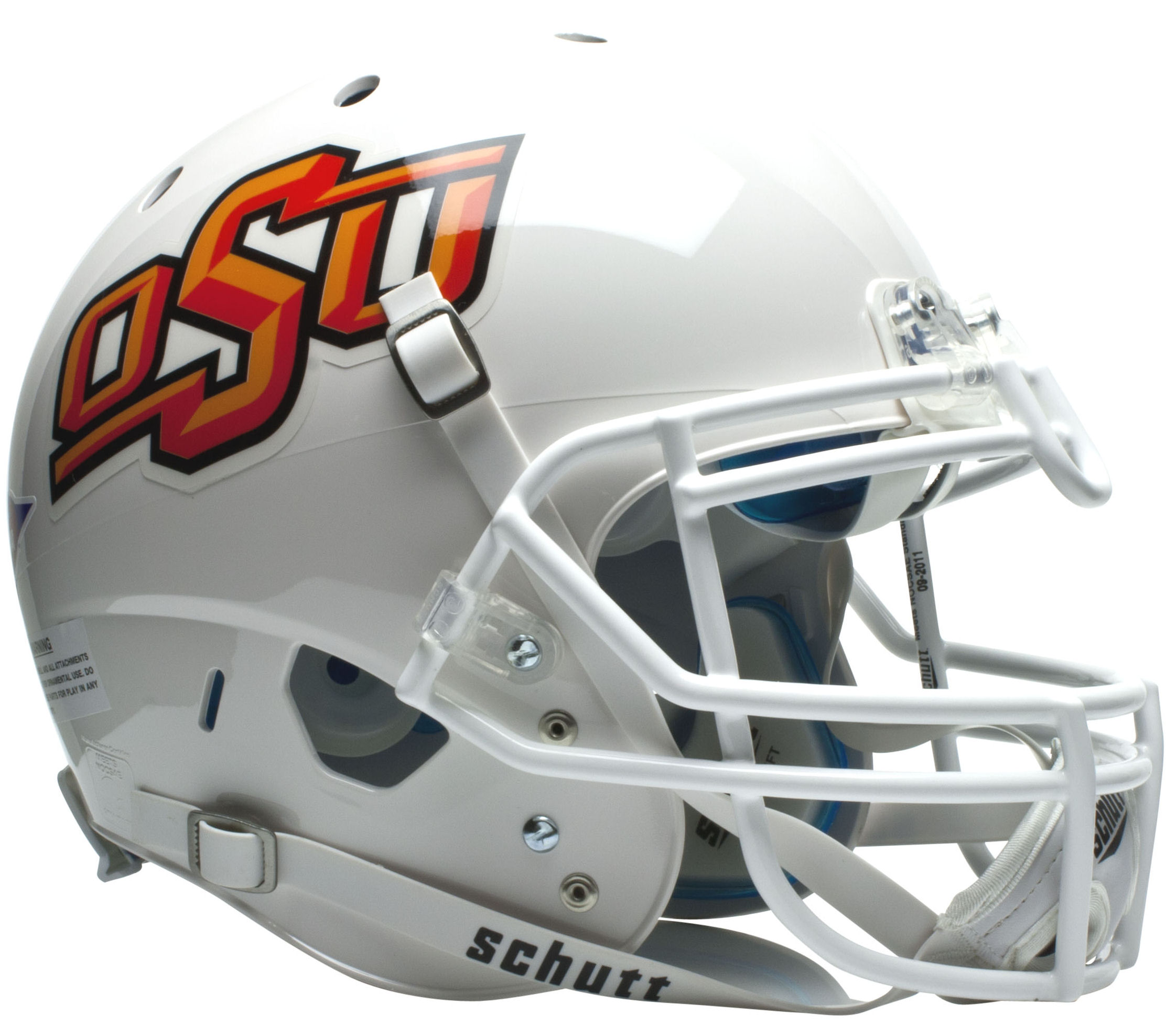 Oklahoma State Cowboys Authentic College XP Football Helmet Schutt