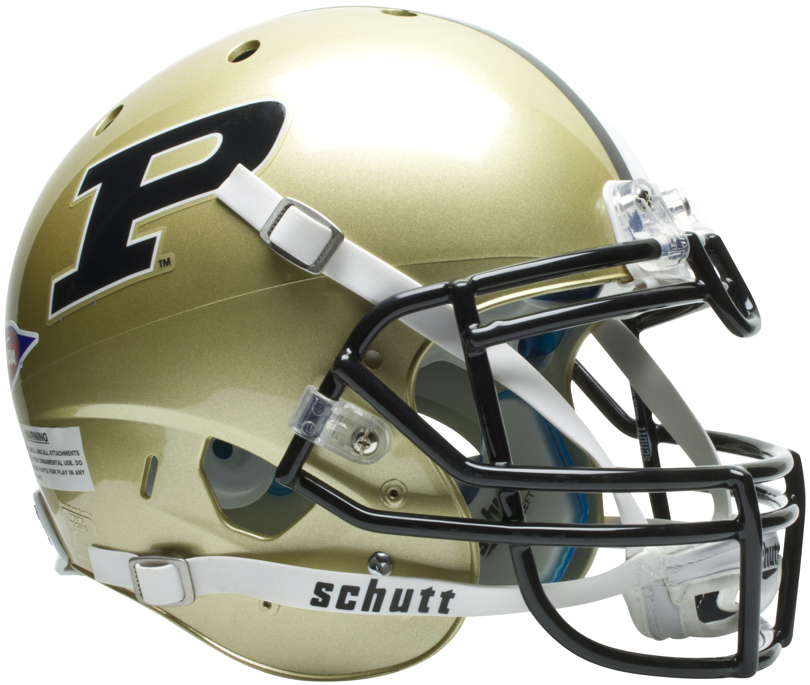 Purdue Boilermakers Authentic College XP Football Helmet Schutt