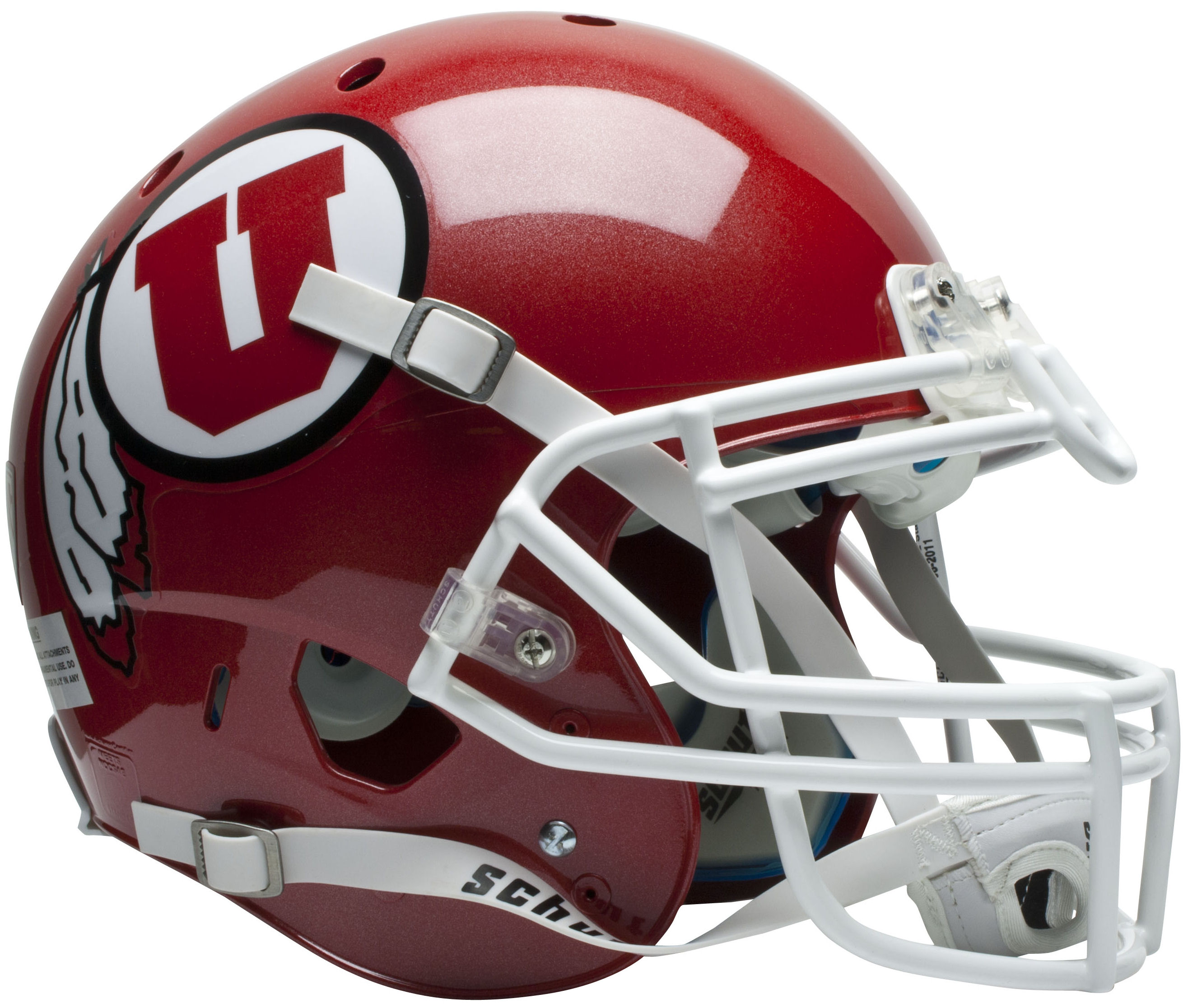 Utah Utes Authentic College XP Football Helmet Schutt
