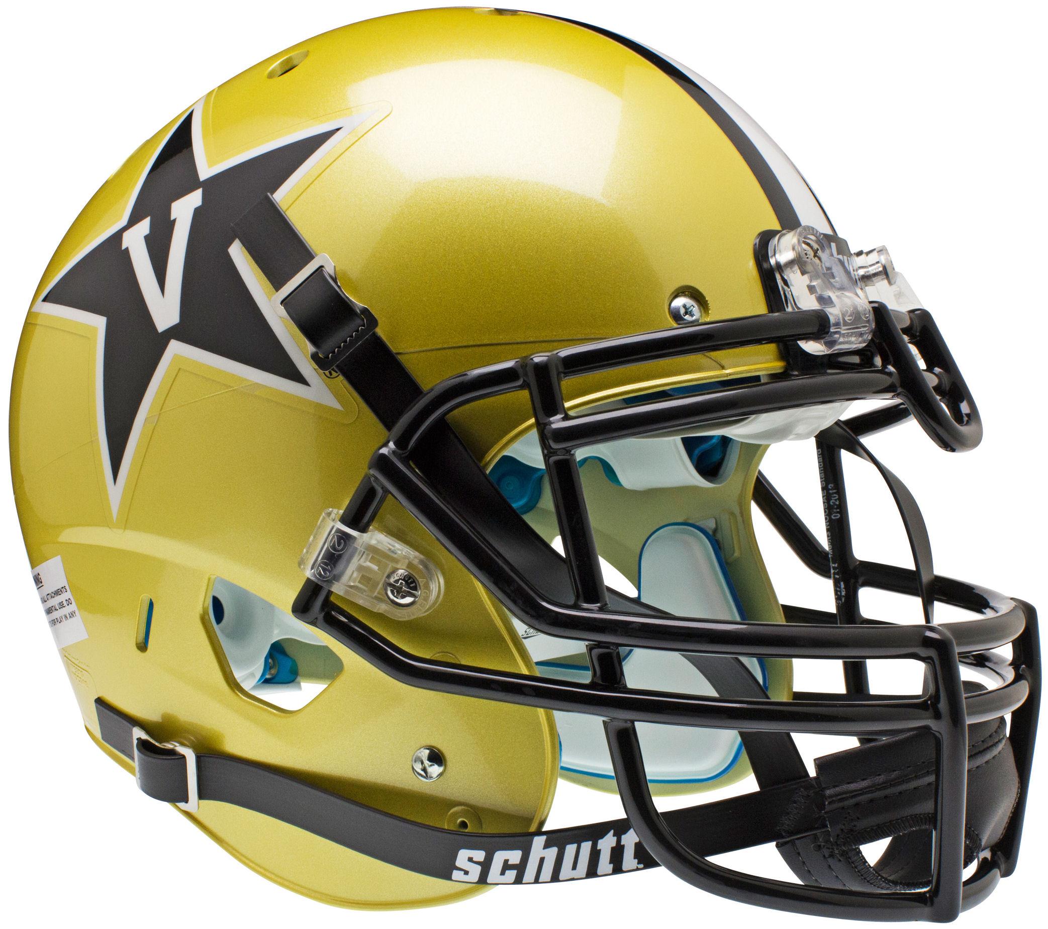 Vanderbilt Commodores Authentic College XP Football Helmet Schutt