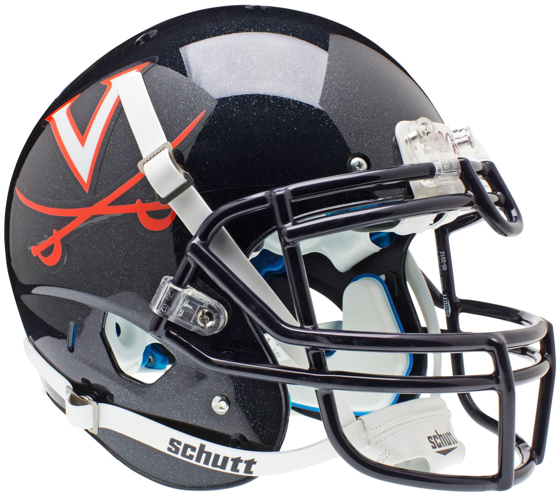 Virginia Cavaliers Authentic College XP Football Helmet Schutt
