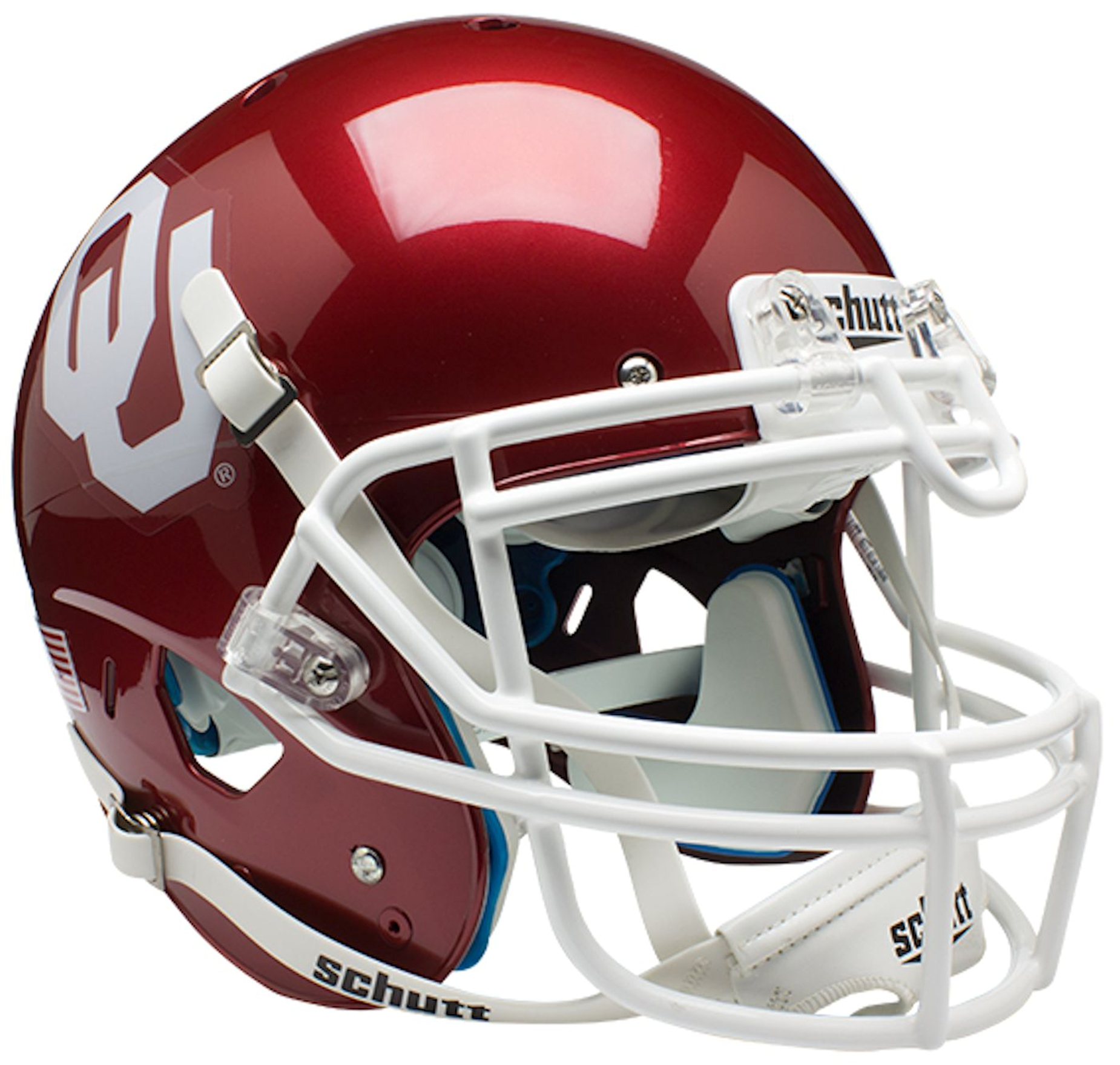 Oklahoma Sooners Authentic College XP Football Helmet Schutt