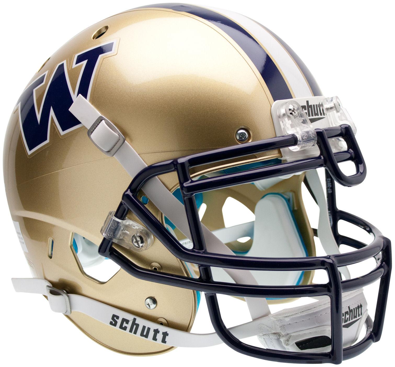 Washington Huskies Authentic College XP Football Helmet Schutt