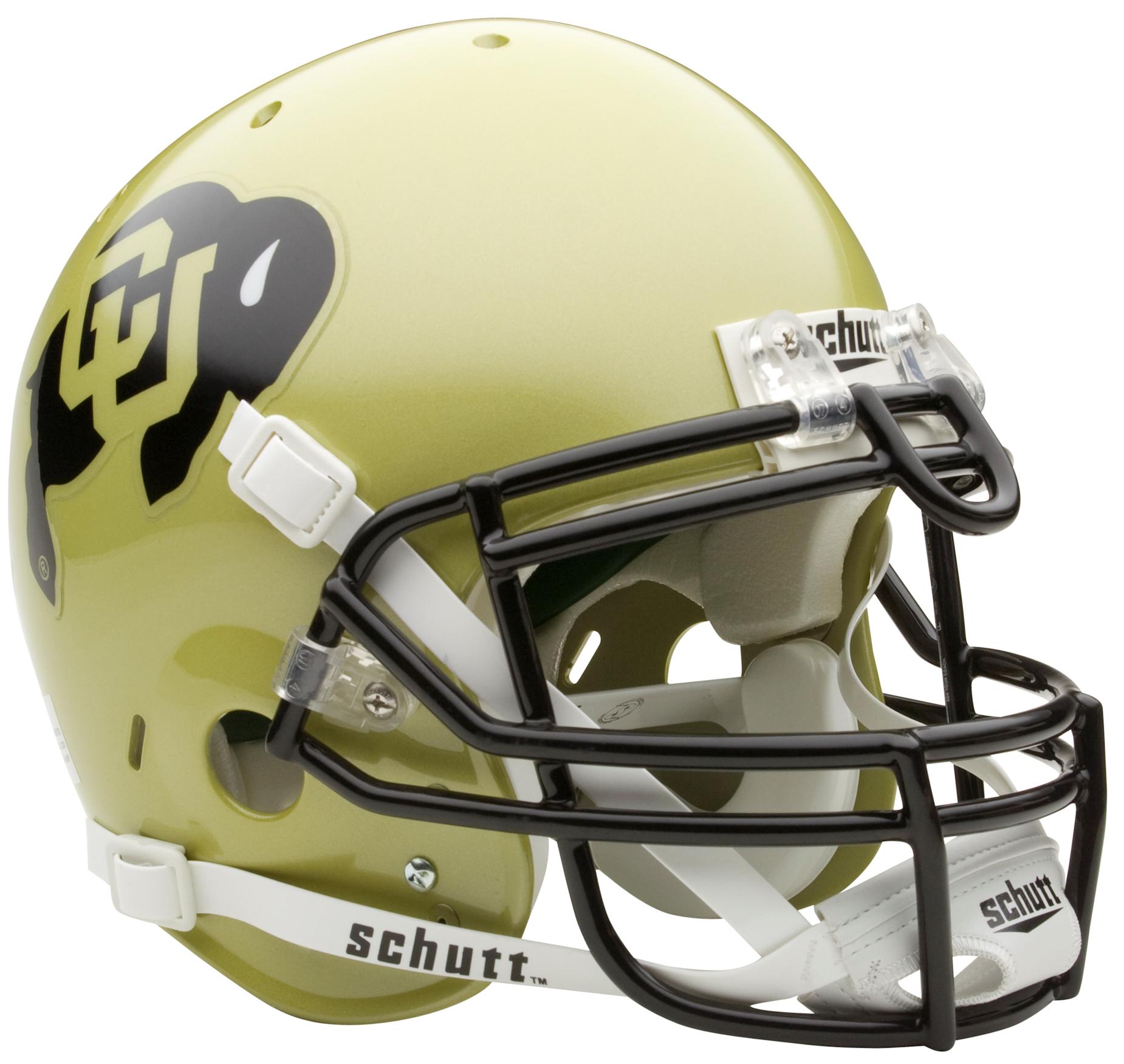 Colorado Buffaloes Authentic College XP Football Helmet Schutt