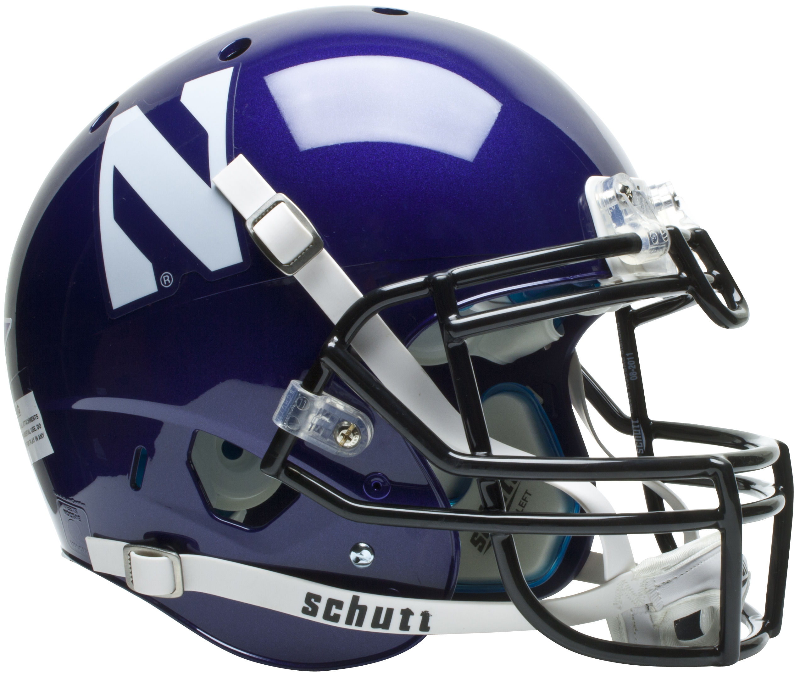 Northwestern Wildcats Authentic College XP Football Helmet Schutt