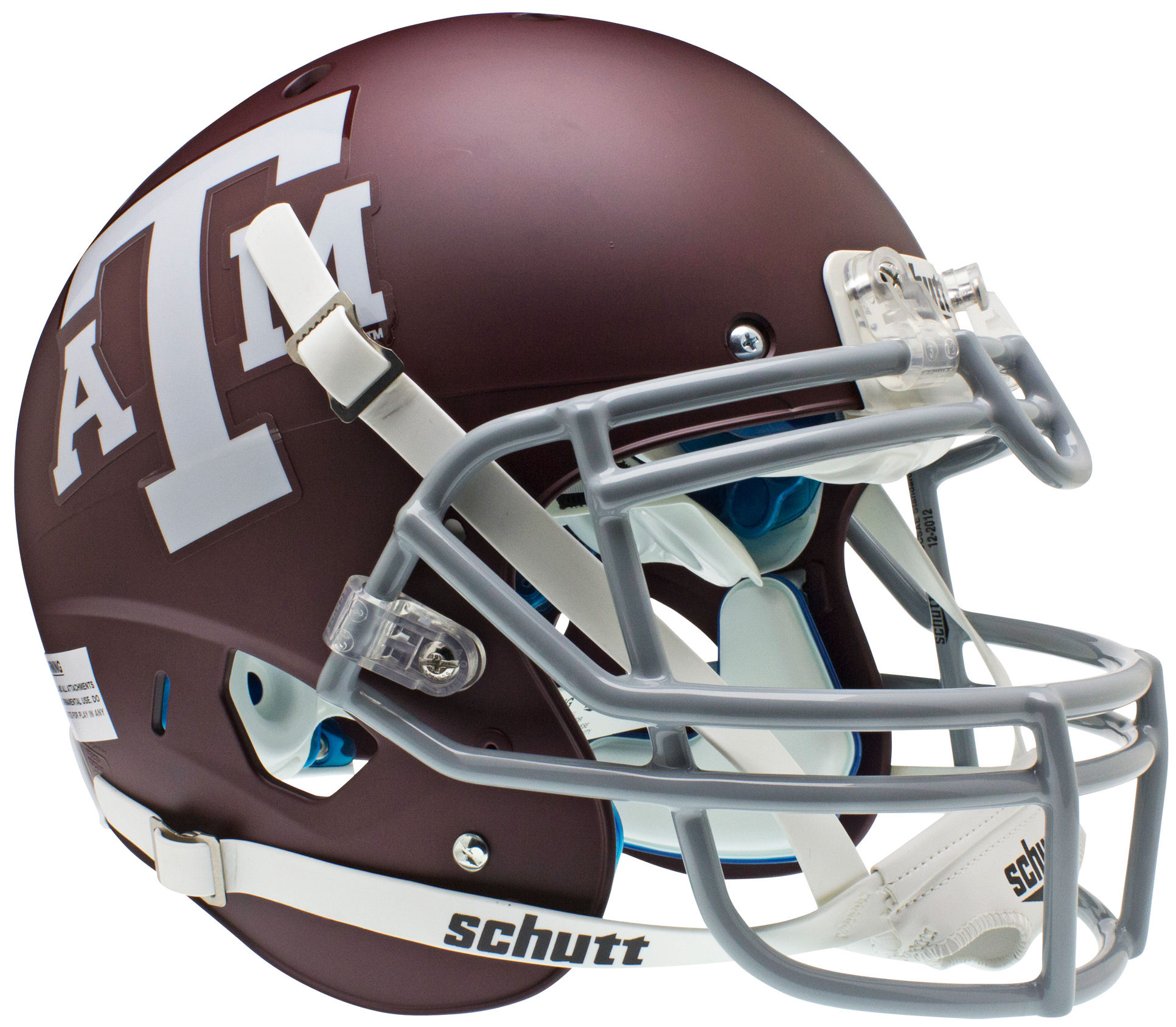 Texas A&M Aggies Authentic College XP Football Helmet Schutt <B>Matte Maroon</B>